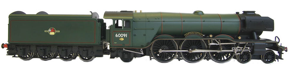 captain cuttle LNER A3