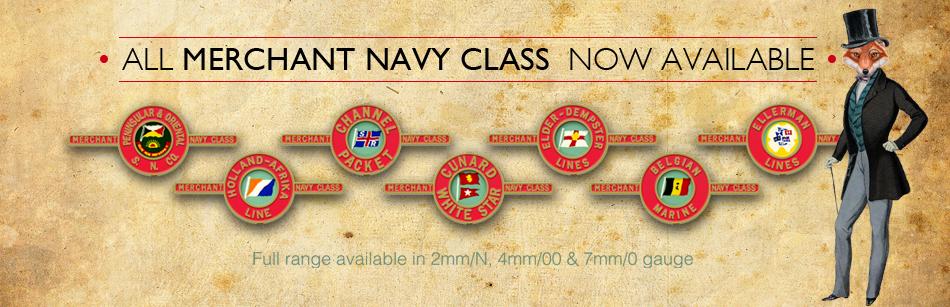 Merchant Navy Nameplates