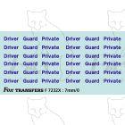 Driver/Guard/Private (NSE Blue)