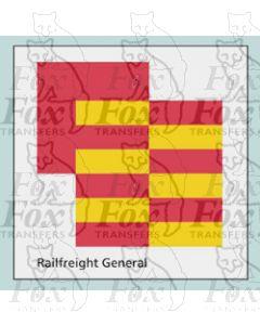 Railfreight General - STICKER