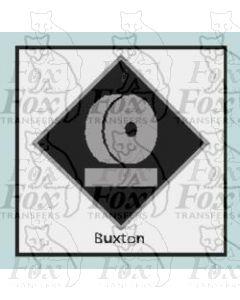 Buxton  - STICKER