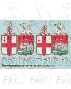 GWR Twin Shield Crests