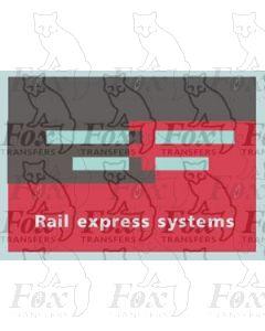 Rail express systems - STICKER