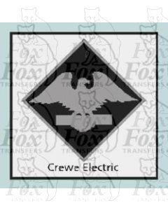 Crewe Electric  - STICKER