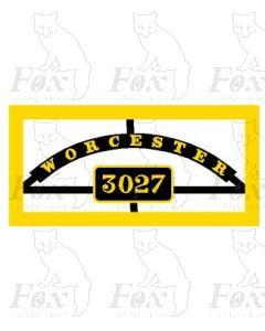 3027 - WORCESTER
