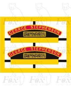 44767  GEORGE STEPHENSON - PRESERVED