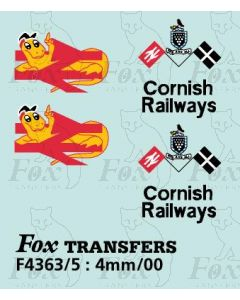 Cornish Railways Class 37 Loco Motifs