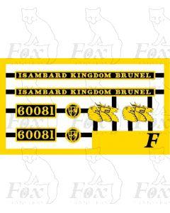 60081 ISAMBARD KINGDOM BRUNEL