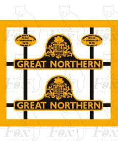 60113  GREAT NORTHERN - crested