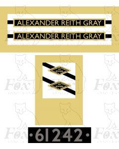 61242  ALEXANDER REITH GRAY