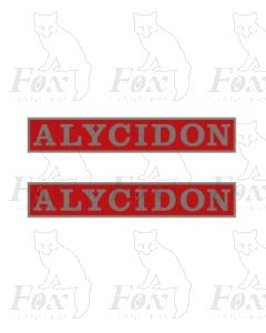 55009 ALYCIDON  (with crests)