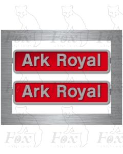 50035 Ark Royal (with crests)