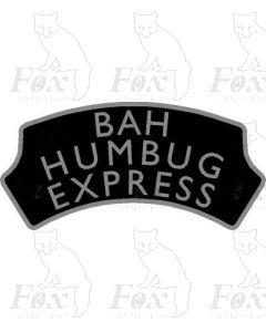 FESTIVE Headboard - BAH HUMBUG EXPRESS
