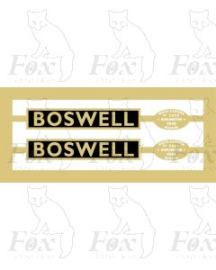 60138  BOSWELL
