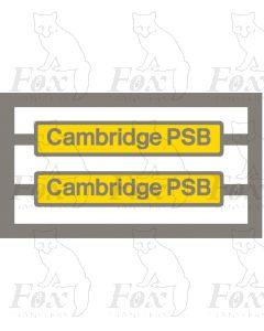 66733 Cambridge PSB