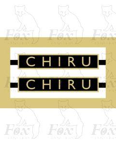 61034  CHIRU