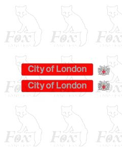 87005 City of London (with crests)