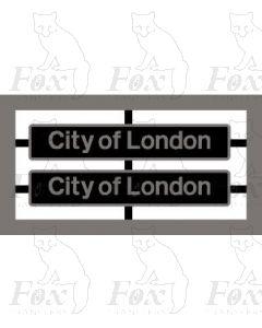 87005 City of London