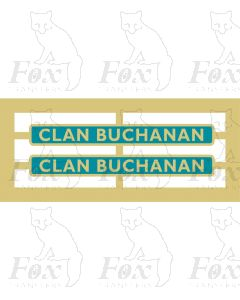 72000  CLAN BUCHANAN