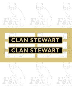 72009  CLAN STEWART
