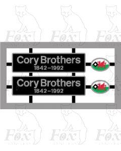47053 Cory Brothers 1842-1992