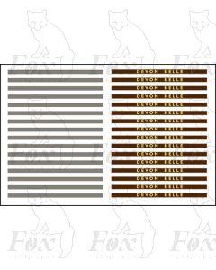 DEVON BELLE - Steel Coachboards