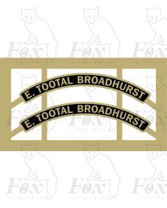 5525  E. TOOTAL BROADHURST