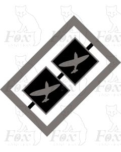MPD Plaques - Eastleigh Spitfire