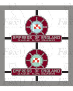 D233 EMPRESS OF ENGLAND