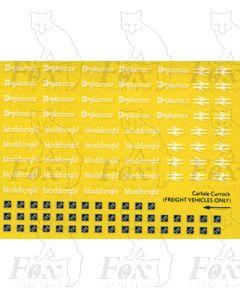 Plasmor Blockfreight/Rf Sub-Sector Carlisle Currock Motifs/Logos