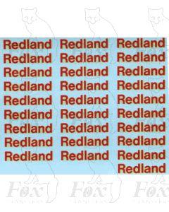 Redland PGA Hopper Logos