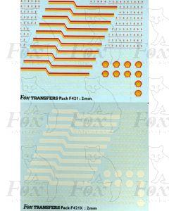Shell TTA tank Logos/Lining/Numbering
