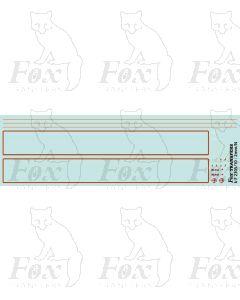 60081 Isambard Kingdom Brunel Loco Lining/Detailing