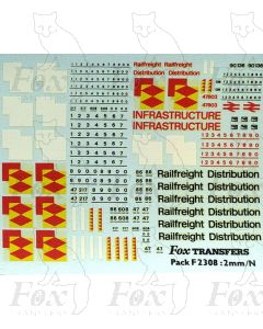 Rf Distribution & Yellow Peril Infrastructure Class 47 Livery Elements