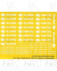 InterCity/ScotRail Loco Logos/Numbering