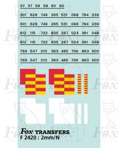 Rf General (larger size) Symbols/TOPS numbering