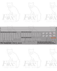 Virgin Mk3 & HST Buffet Car Lining/Detailing