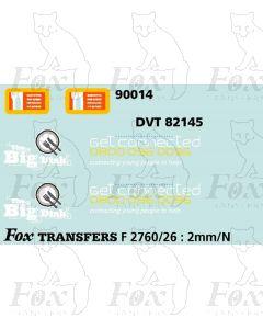 Virgin Loco 90014 & DVT 82145 Graphics