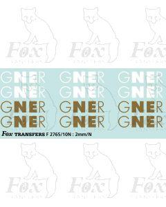 GNER Logos for HST/Class 91s