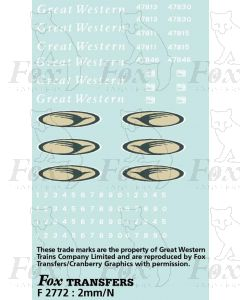 GWT Complete Livery Pack for Class 47 Loco