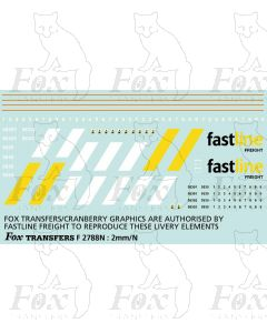 Fastline Freight Class56/3 Livery Elements