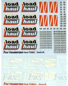 Loadhaul Class 60 Livery Elements