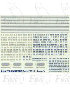 Mainline Class 08/09  Shunter Elements