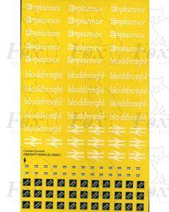 Plasmor Blockfreight/Rf Sub-Sector Carlisle Currock logos/motifs