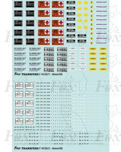 Oil Tanker Graphics with TTA data panels