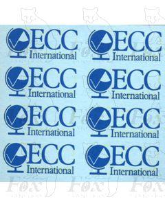 ECC International stainless steel-bodied Tanker Logos