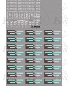 Res NBA vans Logos/Flashes/Detailing (94400-94413)