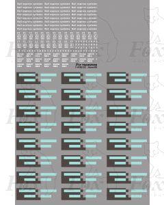 Res NBA vans Logos/Flashes/Detailing (94427-94438)