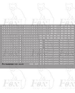 Res Van Brandings/Lettering/Numbering
