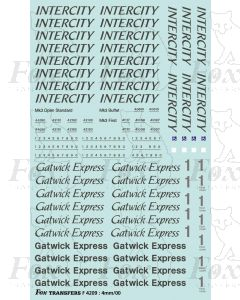 CLASS 47 INTERCITY SWALLOW TRAIN PACK